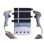 SCALEXTRIC DIGITAL Four Car Powerbase & TWO Digital Hand Controllers (C7002)