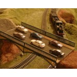 Pack of SIX Cars  For a OO or HO Gauge  Model Railway.