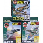 AIRFIX Three Mini Kits of Historic Military Planes.