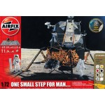 AIRFIX One Small Step for Man... APOLLO 11 LUNAR MODULE with a MOON DIORAMA BASE & 16 ASTRONAUTS with EQUIPMENT A50106