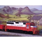 BACHMANN EMD GP40 WESTERN MARYLAND Diesel Locomotive