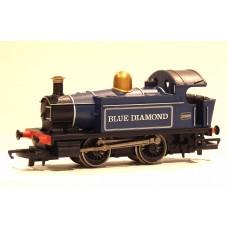 HORNBY 0-4-0 'Blue Diamond' 0-4-0 Locomotive