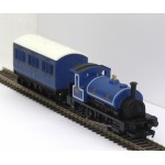 HORNBY 0-4-0 Caledonian Railways Saddle Tank Locomotive and 4-Wheel Coach
