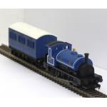HORNBY 0-4-0 Caledonian Railways Saddle Tank Locomotive and 4-Wheel Coach