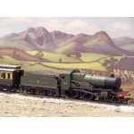 HORNBY 4-4-0 DCC Fitted GWR 'County of Radnor' Limited Edition County Class Locomotive