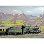 HORNBY 4-4-0 GWR 'County of Radnor' Limited Edition County Class Locomotive DCC Ready