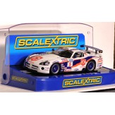 SCALEXTRIC DODGE VIPER Competition Coupe Naykid Racing #3 C2907 in Crystal Display Box