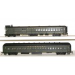 Bachmann SPECTRUM DCC FITTED EMC GAS ELECTRIC DOODLEBUG Loco with Trailer Coach  81425