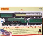 HORNBY FLYING SCOTSMAN USA TOUR Limited Edition Train Pack  DCC Ready R2953