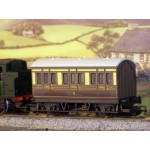 HORNBY Great Western Railway 4-Wheel Coach