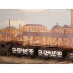HORNBY Rake of TWO Iron-Sided GLENHAFOD PORT TALBOT Wagons with Real Coal Load Added