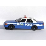 SCALEXTRIC GOTHAM CITY BATMAN POLICE CAR GPD