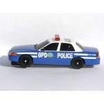 SCALEXTRIC GOTHAM CITY BATMAN POLICE CAR GPD