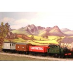 HORNBY GWR Class 101 Holden 0-4-0 Tank Locomotive Goods Train Pack R2670