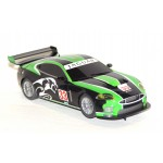 SCALEXTRIC JAGUAR XKR GT3  Green and Black No. 33 DPR
