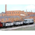 HORNBY LMS GOODS TRAIN  Comprised of: TWO LMS Coal Wagons with Real Coal Loads Added and an LMS Brake Van