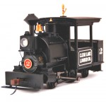 Bachmann SPECTRUM TSUNAMI SOUND 0-4-2 On30 Scale Porter Steam Locomotive - Clear Lake Lumber Company