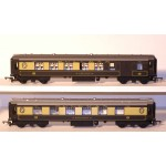 HORNBY RAKE of TWO CORNISH PULLMAN CORRIDOR COACHES 'ROSEMARY' & 'CAR No.65'
