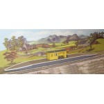 USED Hornby Station Halt including Extra Platforms, Shelter and Accessories R590