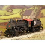 BACHMANN DCC Fitted 0-6-0 USRA Seaboard Steam Locomotive with Vanderbilt Tender