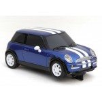 SCALEXTRIC DIGITAL Blue BMW Mini