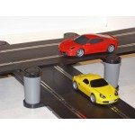 SCALEXTRIC ELEVATED BRIDGE SPORT TRACK SET