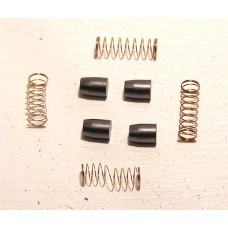 HORNBY BRUSHES (X8026 was S8319) and SPRINGS (X8027) TWO x PAIRS